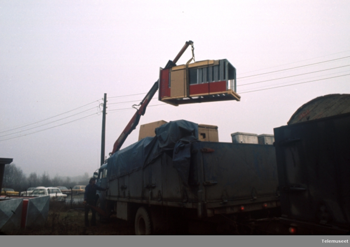 Fabrikker, hovedlager transport
