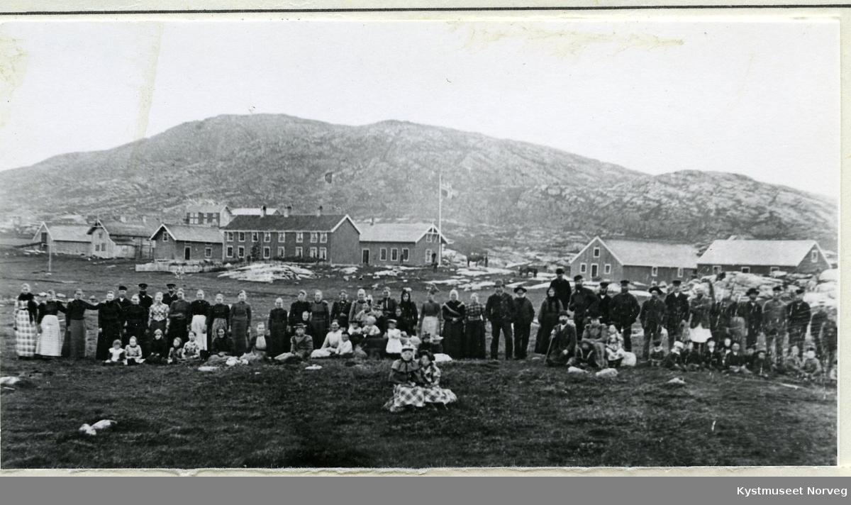 Lauvøya, Kjøpmann Wiigs arbeidere og medhjelpere