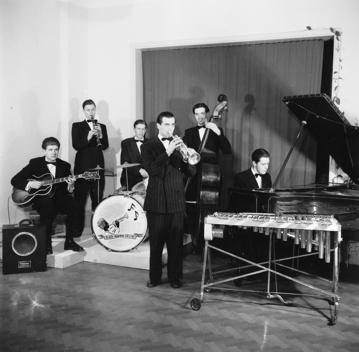 Harry Johanssons orkester Black-Harrys Ensemble, Uppsala