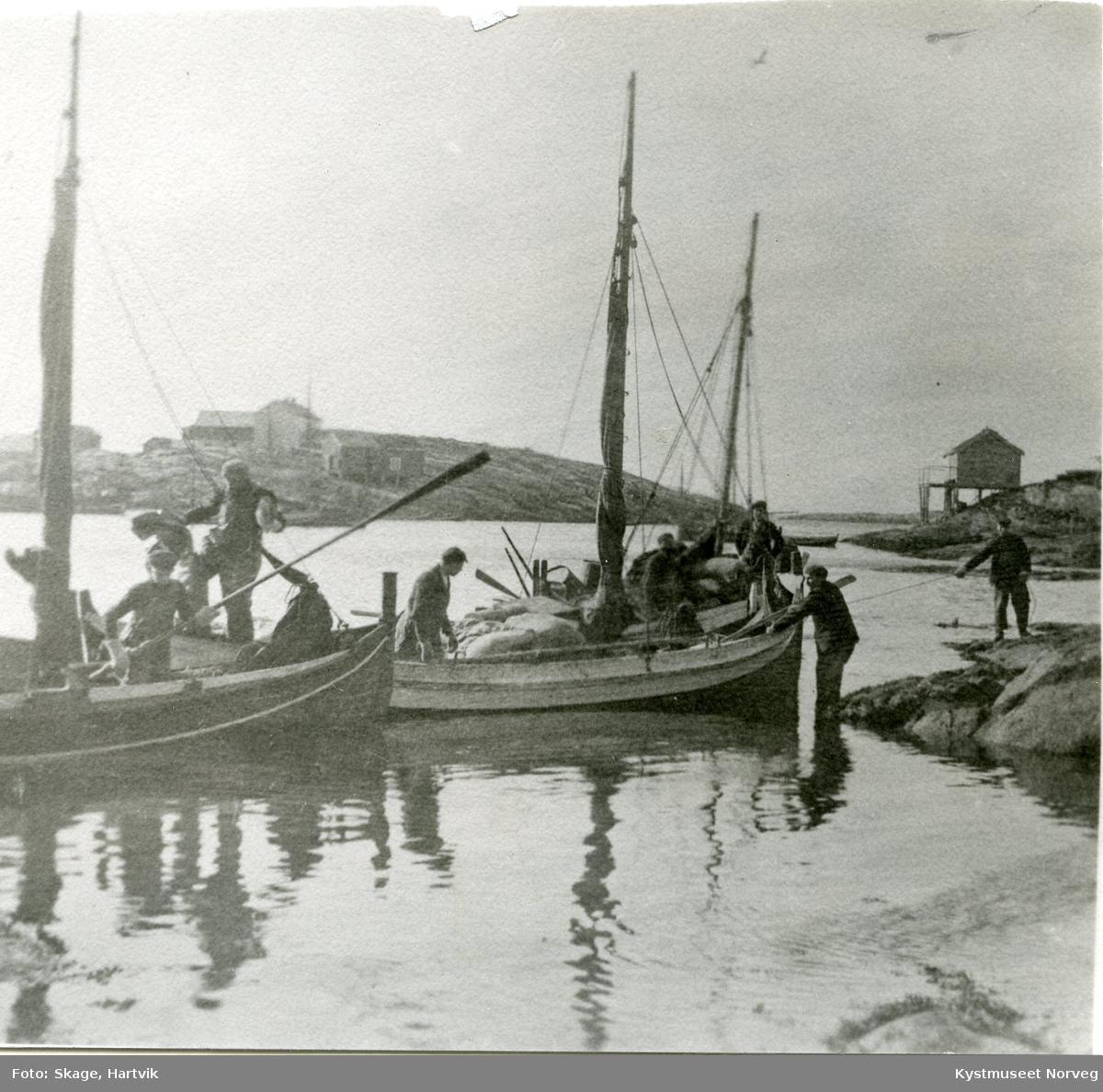 Sør-Gjæslingan, hjemreise fra endt fiske