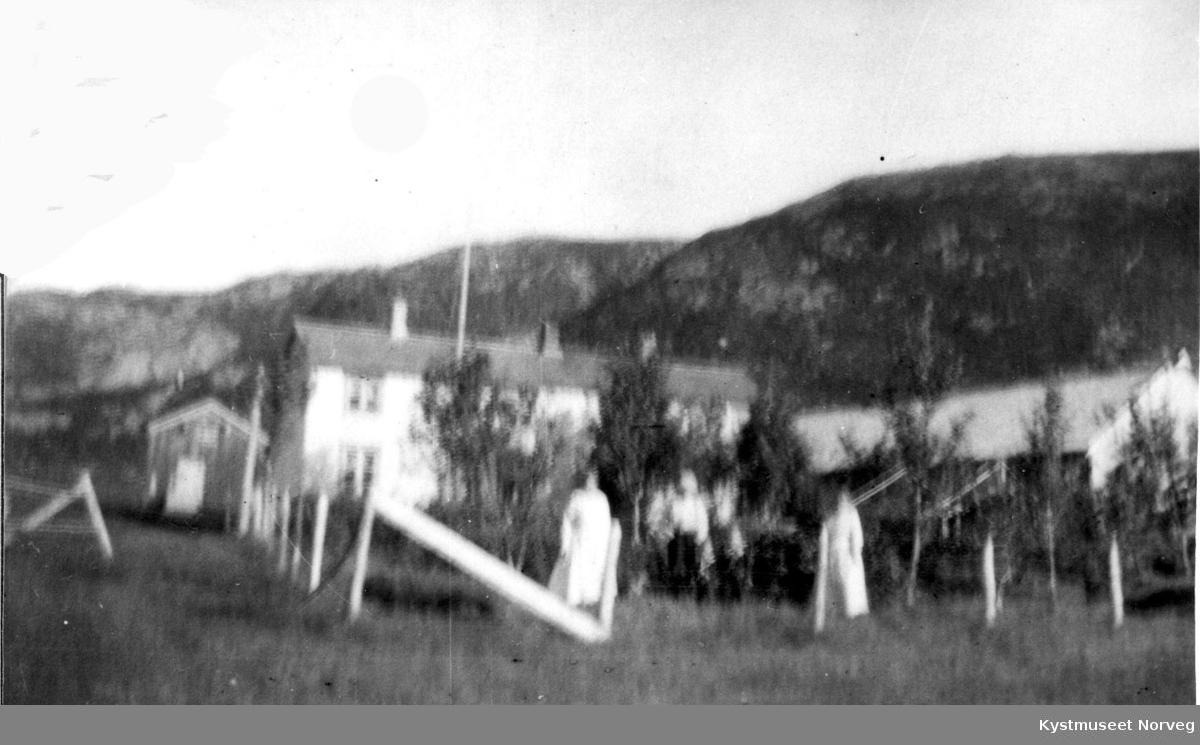 """Flatanger, """"Wilhelm-gården"""" på Strøm"""