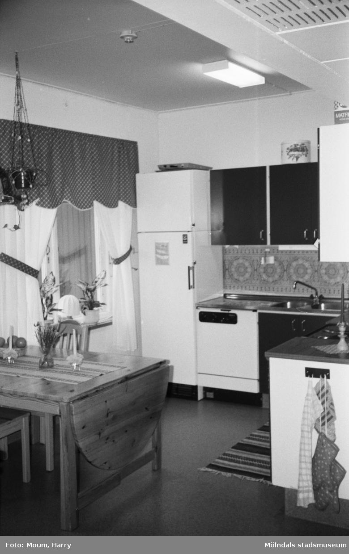 Kök på Sagåsens vårdhem i Kållered, år 1983.