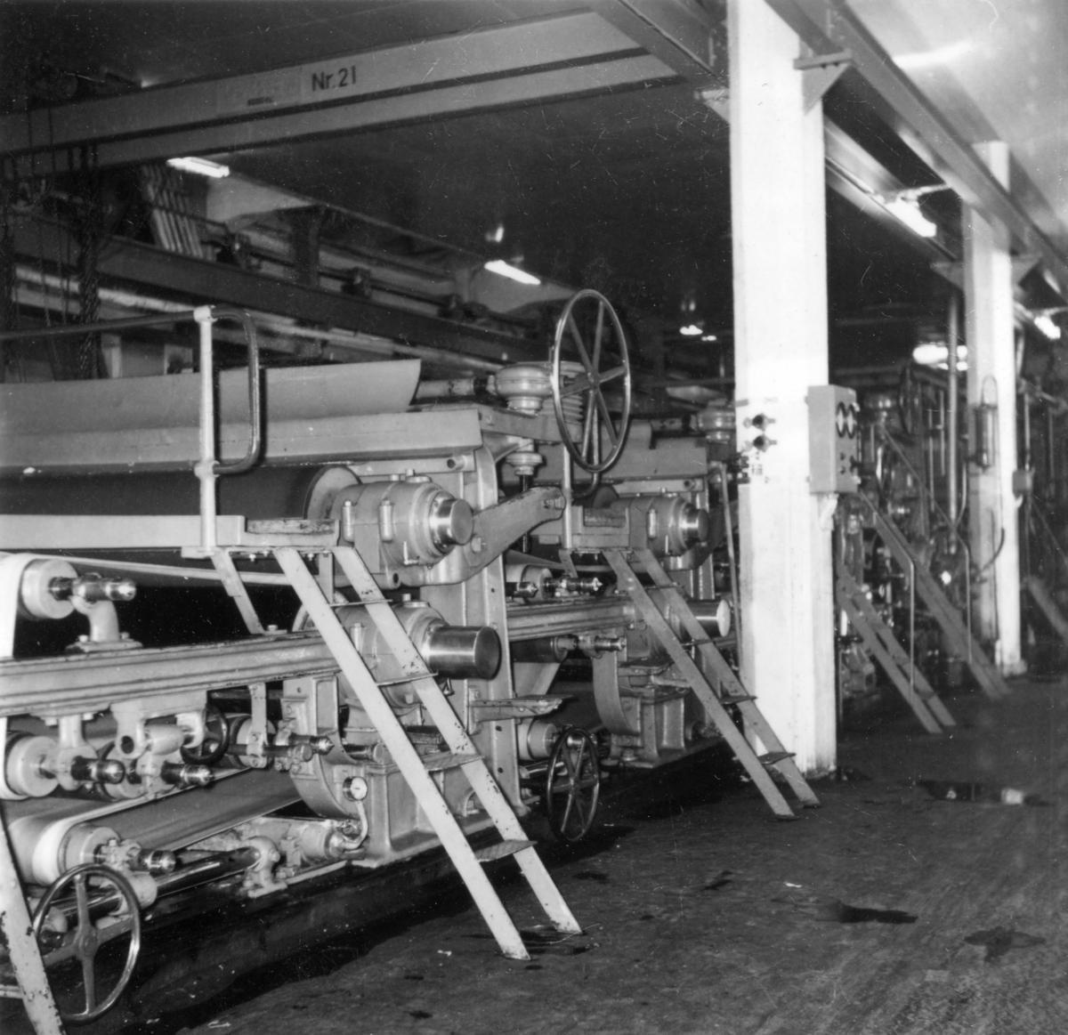 PM 11 ombyggnad på Papyrus, april - maj 1959.