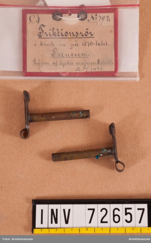 Grupp FII. I bruk i Preussen på 1870-talet. 2 delar.