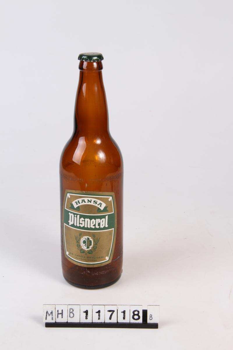 Ølflaske med kork