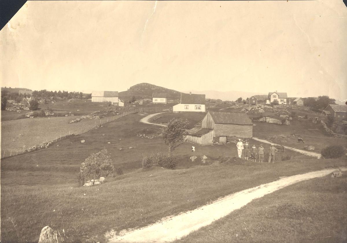 Gårdshus - Landskap.