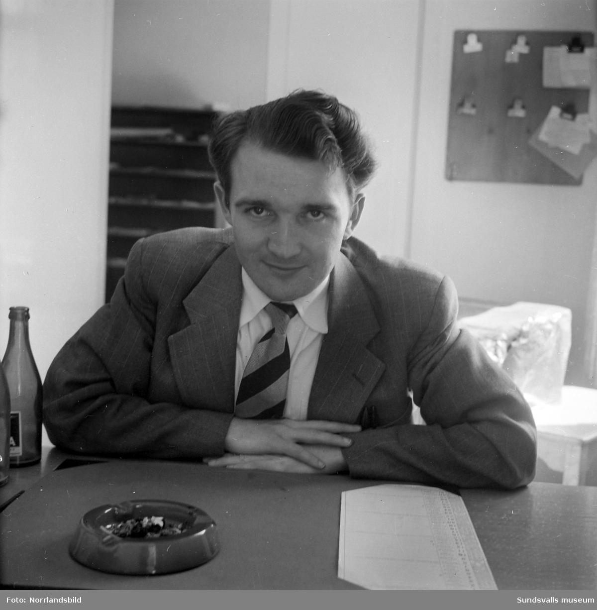Olle Jacobsson, redaktör på Nya Samhället (Dagbladet).