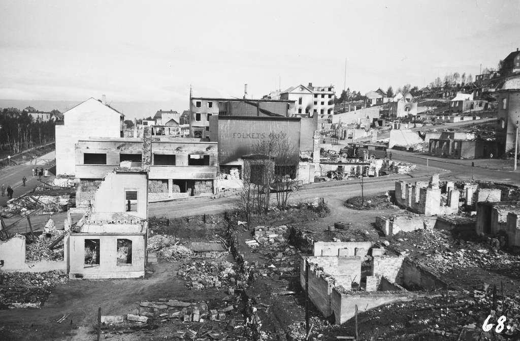 Ruiner Oscarsborg Folkets Hus