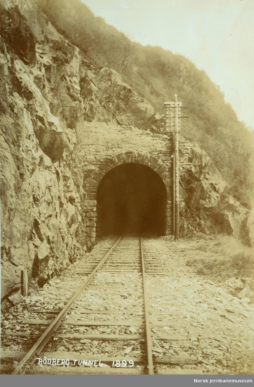 Rødberg tunnel på Vossebanen