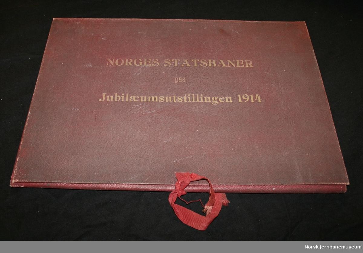Norges Statsbaner paa Jubilæumsutstillingen 1914