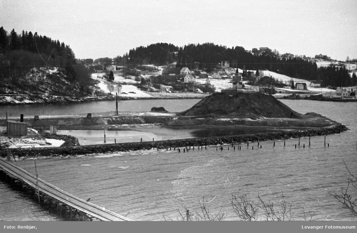 Levanger havn og utvidelse av havnesporet