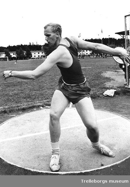 Diskus 1966 Hasse Haglund.