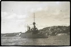 Krigsskip ved Kristiansand