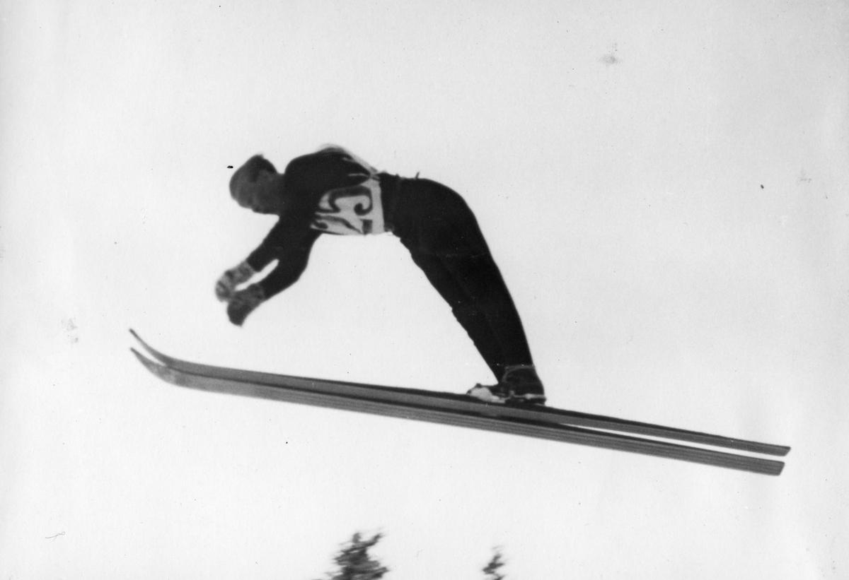 Kongsberg skier Sigmund Ruud in action