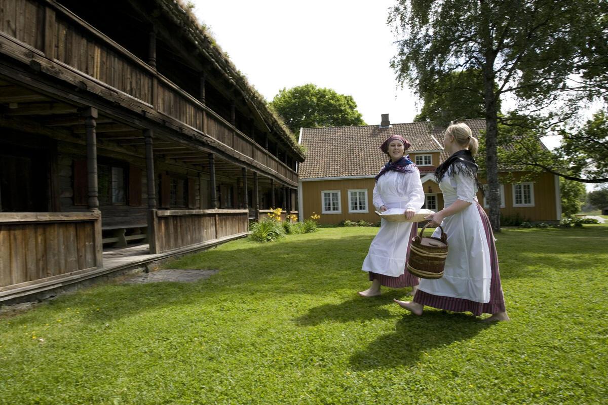 Sommeransatte på Gamle Hvam (Foto/Photo)