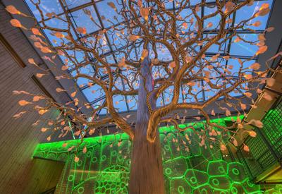 Det fantastiske treet. 16/12 2015 (Foto/Photo)