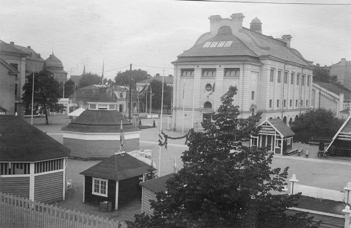 Industriutställningen i Örebro 1911. Bild från tidskriften Hemmets bildmaterial.