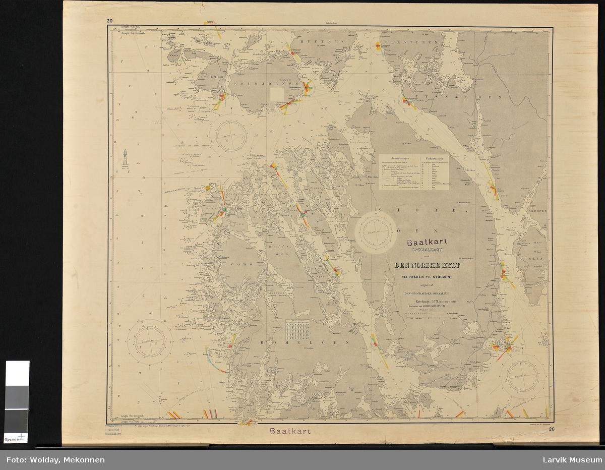Den norske kyst fra Hisken til Stolmen Norge Bømlo