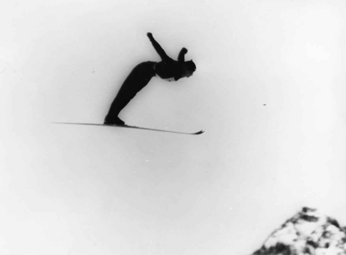 Petter Hugsted in St. Moritz