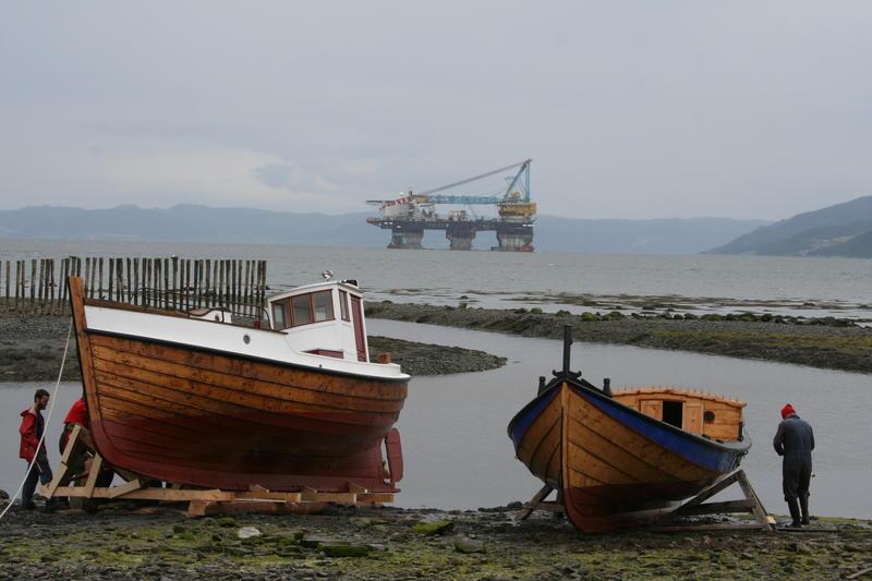 Børsabåten Eivind sjøsettes (Foto/Photo)