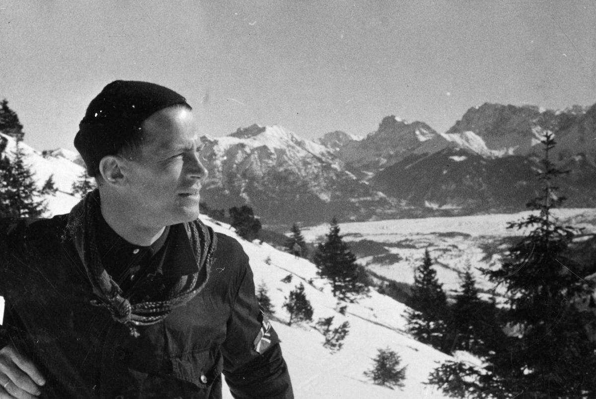 Kongsberg skier Alf Konningen during OG in 1936