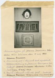 Johanna Brunssons vävskola.