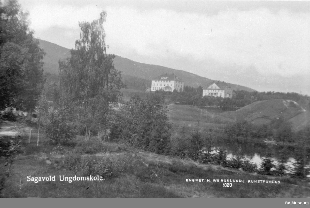 Sagavold Ungdomskole på Gvarv.