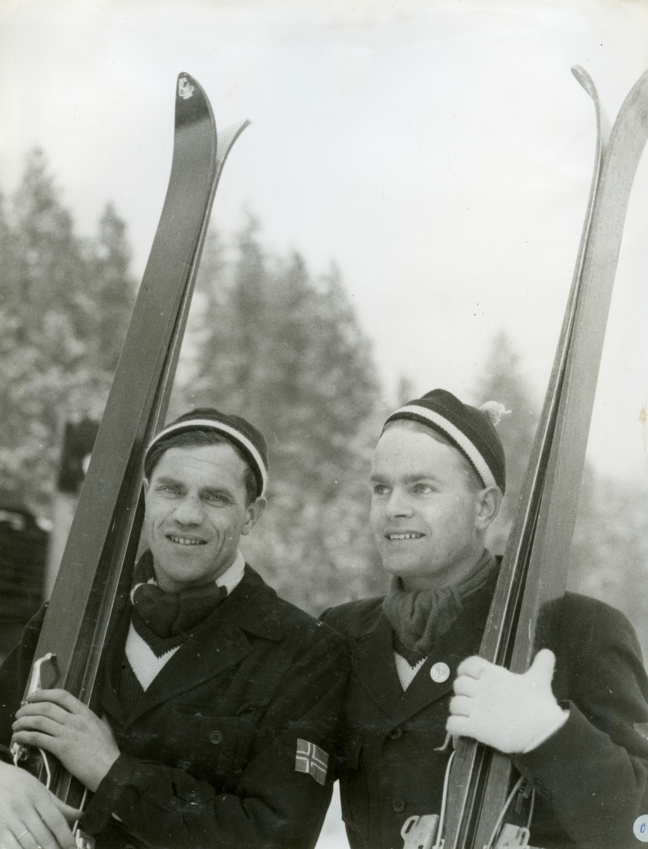 Arne Ulland and Gustav Råum Leavenworth