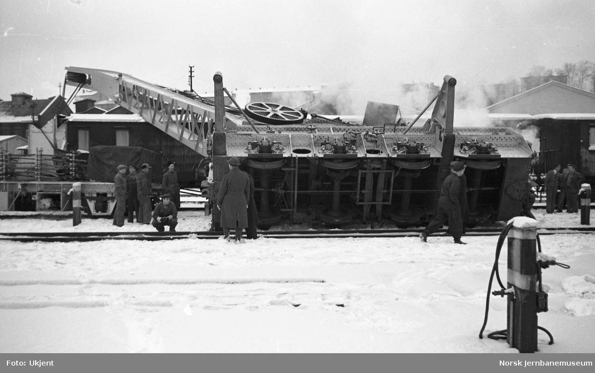 Veltet katastrofekran i Lodalen