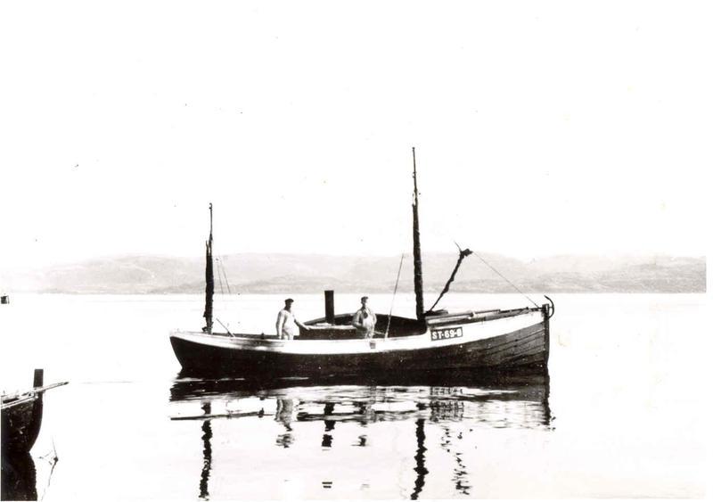 En gammel børsabåt. (Foto/Photo)