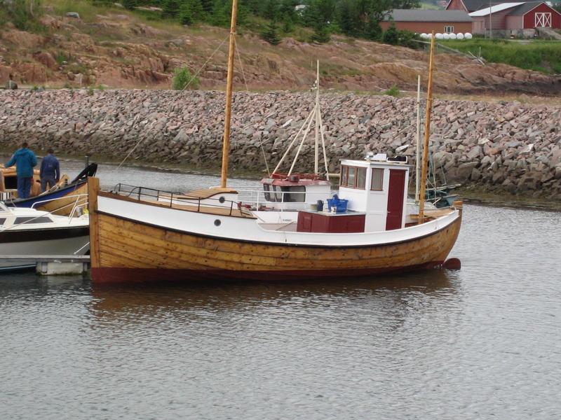 Børsabåten Eivind, bygd 2007