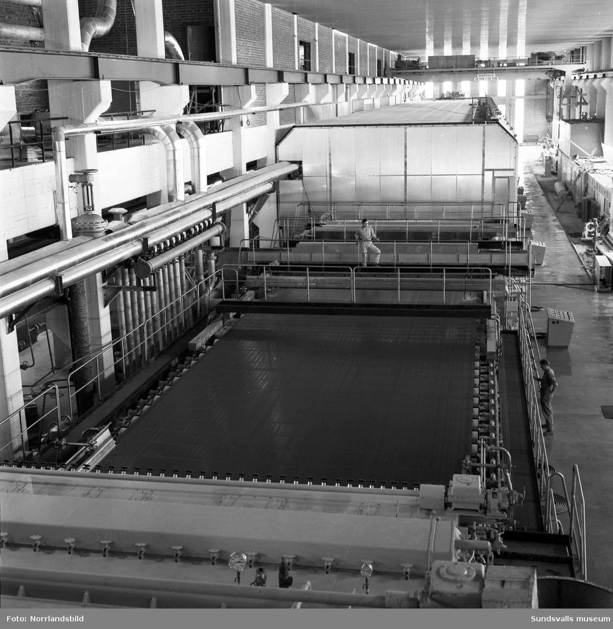Interiörbilder från Vivstavarvs nya fabrik.