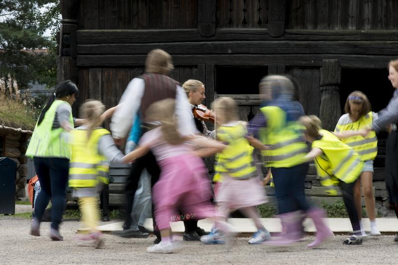 Barnehagebesøk