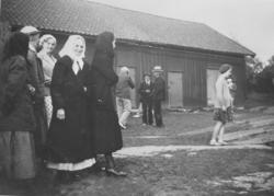 Midsommarfirande på Lyrön i Bohuslän runt 1940