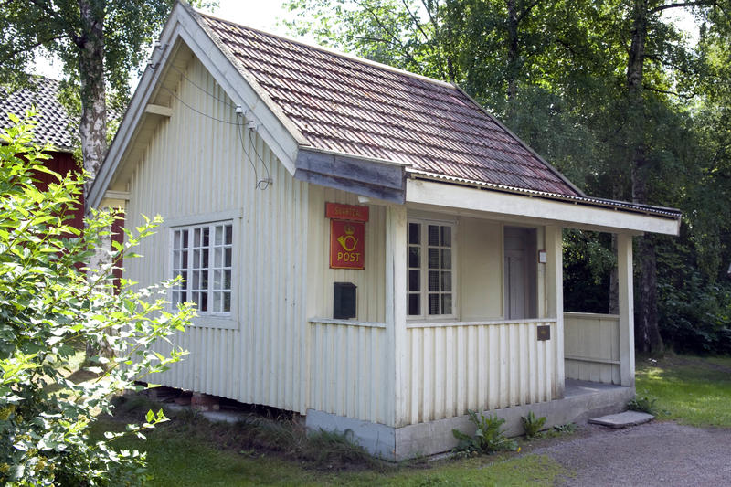 Posthus fra Svartdal i Telemark (Foto/Photo)