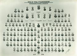 Oslo Politikammer Kriminalavdelingen 1951