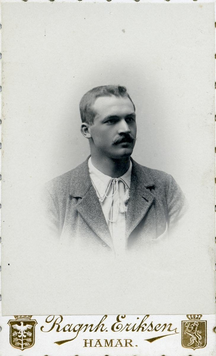 Portrett av Hermann Karlsgot.