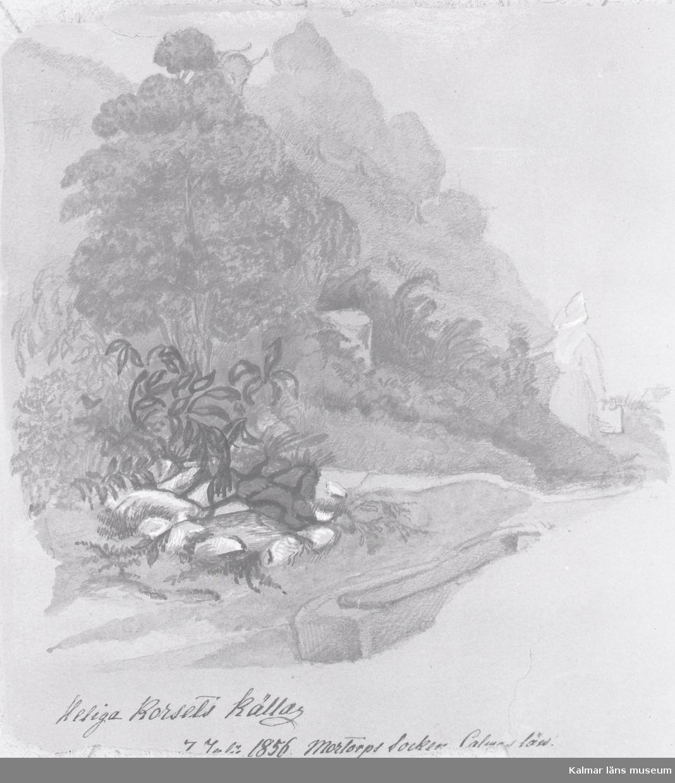 Heliga korsets källa 1856.
