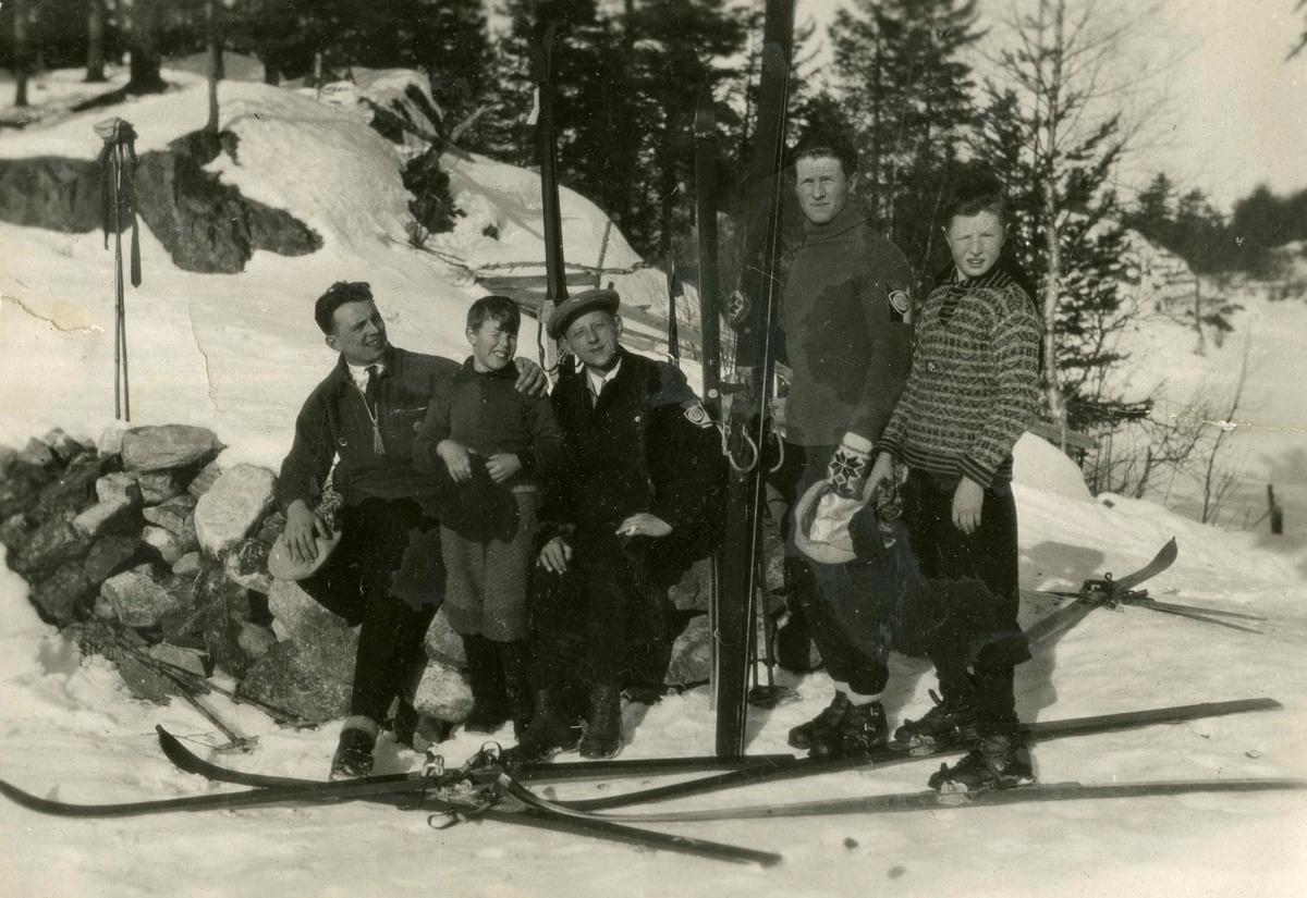 Skiing at Kongsberg