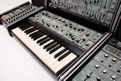 Synthesizer. Foto/Photo