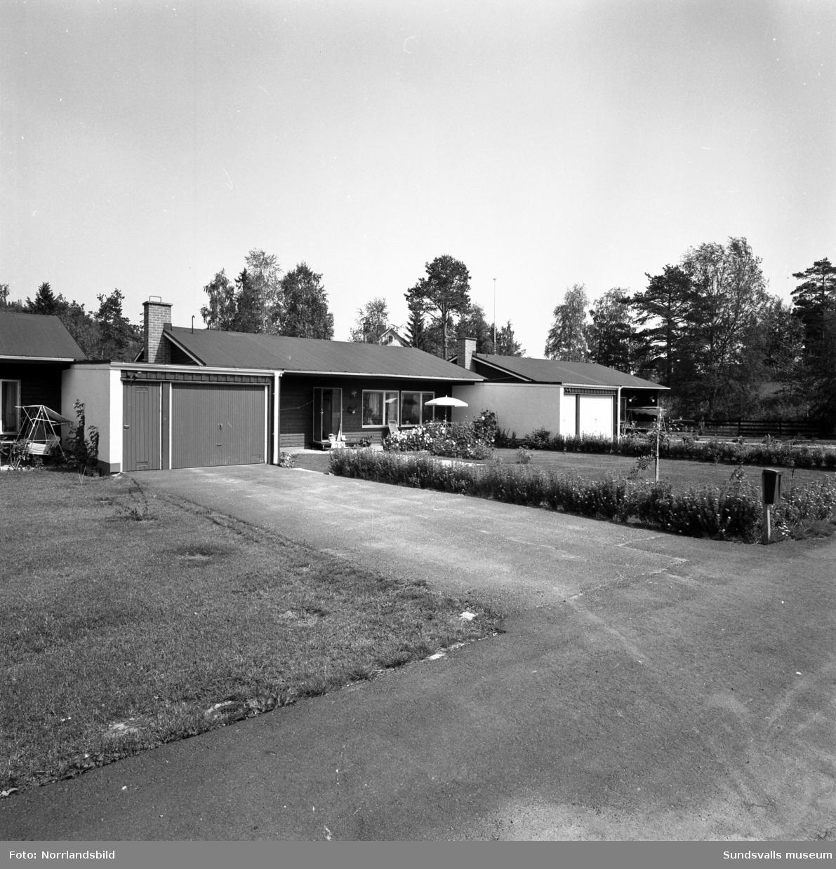 Radhus vid Stjärnvägen i Nolby, Njurunda.