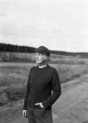Författarinnan Sigge Stark, pseudonym för Signe Björnberg 19