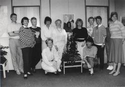 Ansatte ved Nittedal ligningskontor 1988