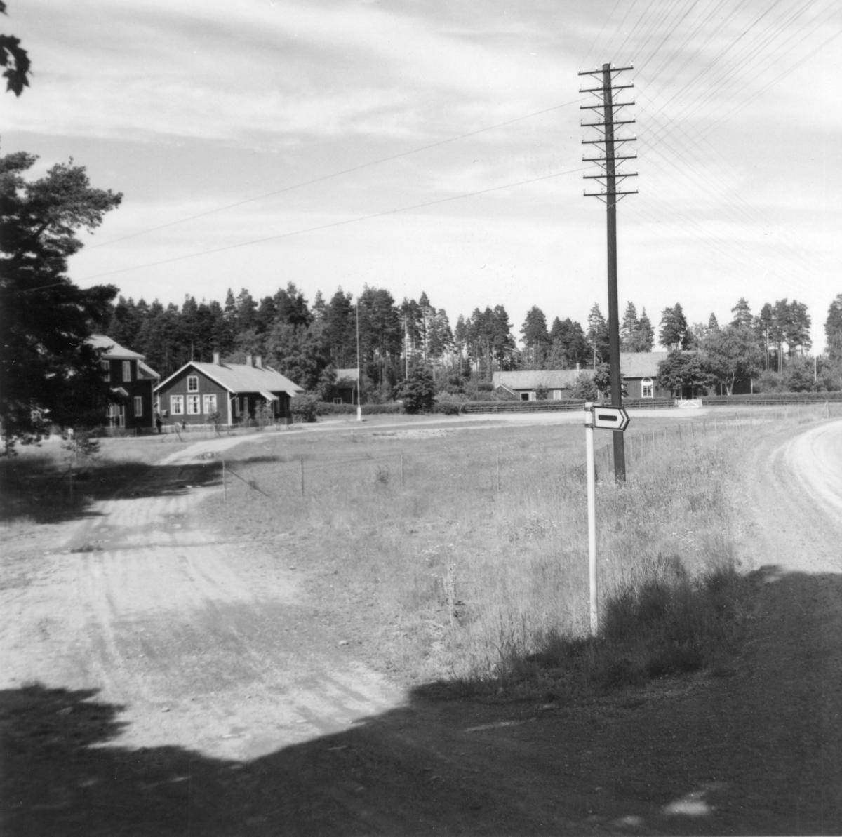 Någonstans i Värmland - från slutet av 1950-talet: Visnum, Nybble skola.