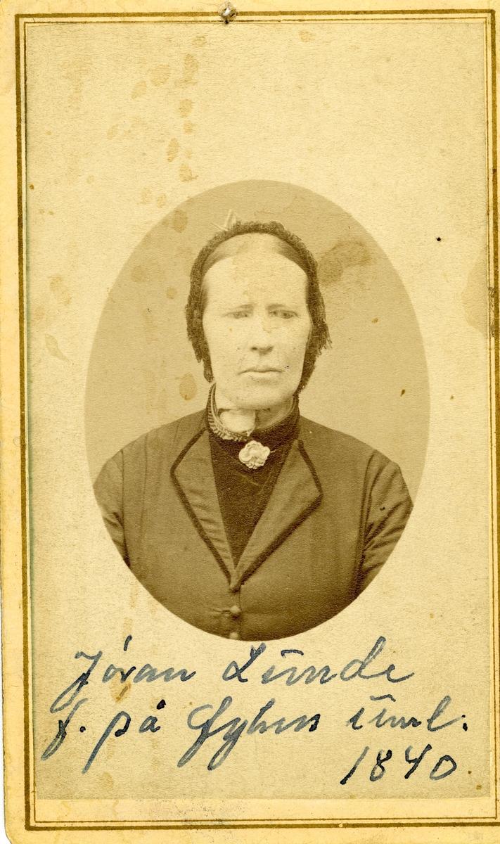Jøran Lunde.