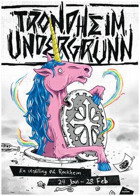 Trondheim Undergrunn - plakat
