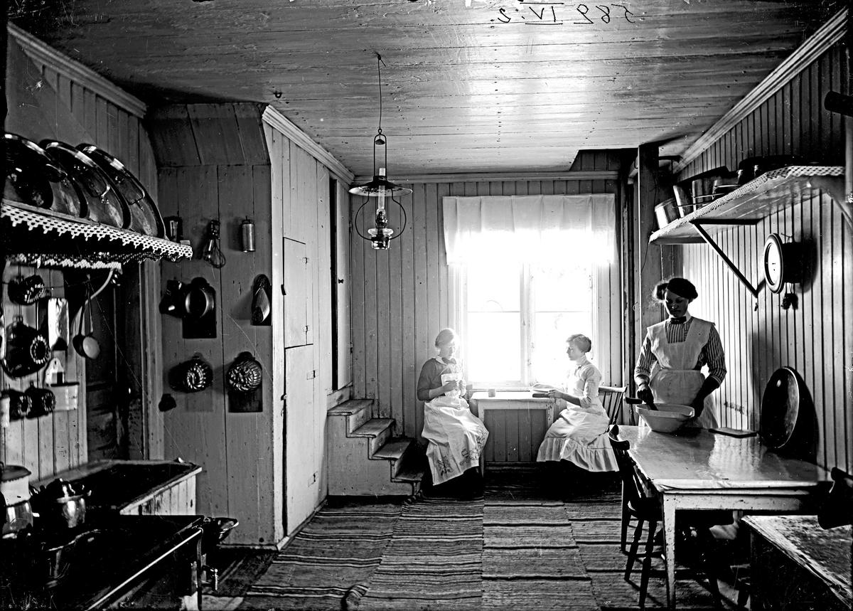 Interiör från köket, Stäholm.