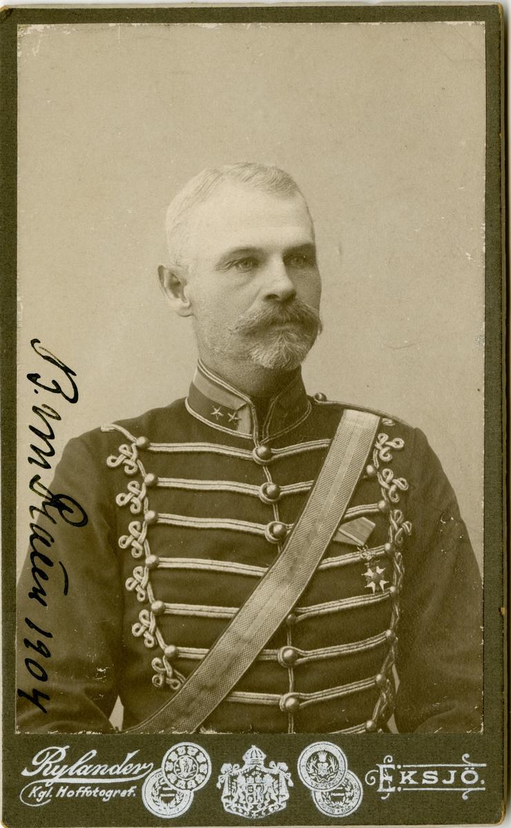 Porträtt av Philip Baltzar von Platen, överstelöjtnant vid Skånska husarregementet K 5.