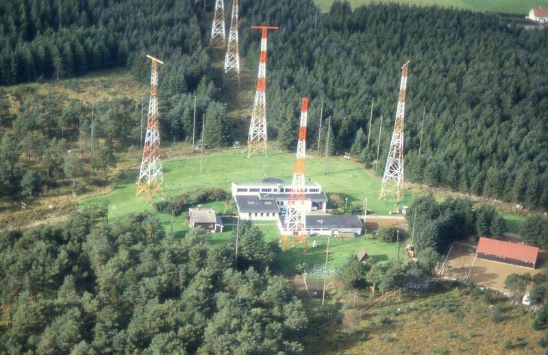 Radio- og kringkastingsstasjoner. Vigreskogen, Hå, Rogaland radio kystradio (Foto/Photo)