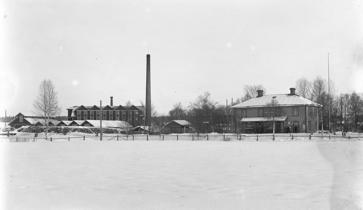 Tegelbruket och Hästbo station